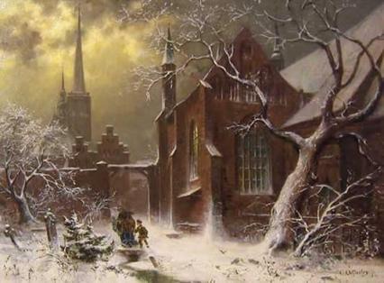 Holy Spirit Hospital in Winter